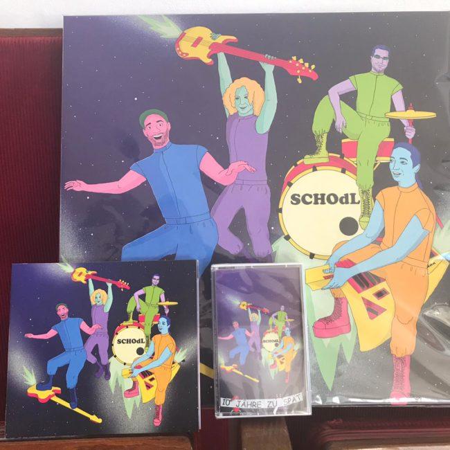 Schodl Debütalbum 10 Jahre zu spät