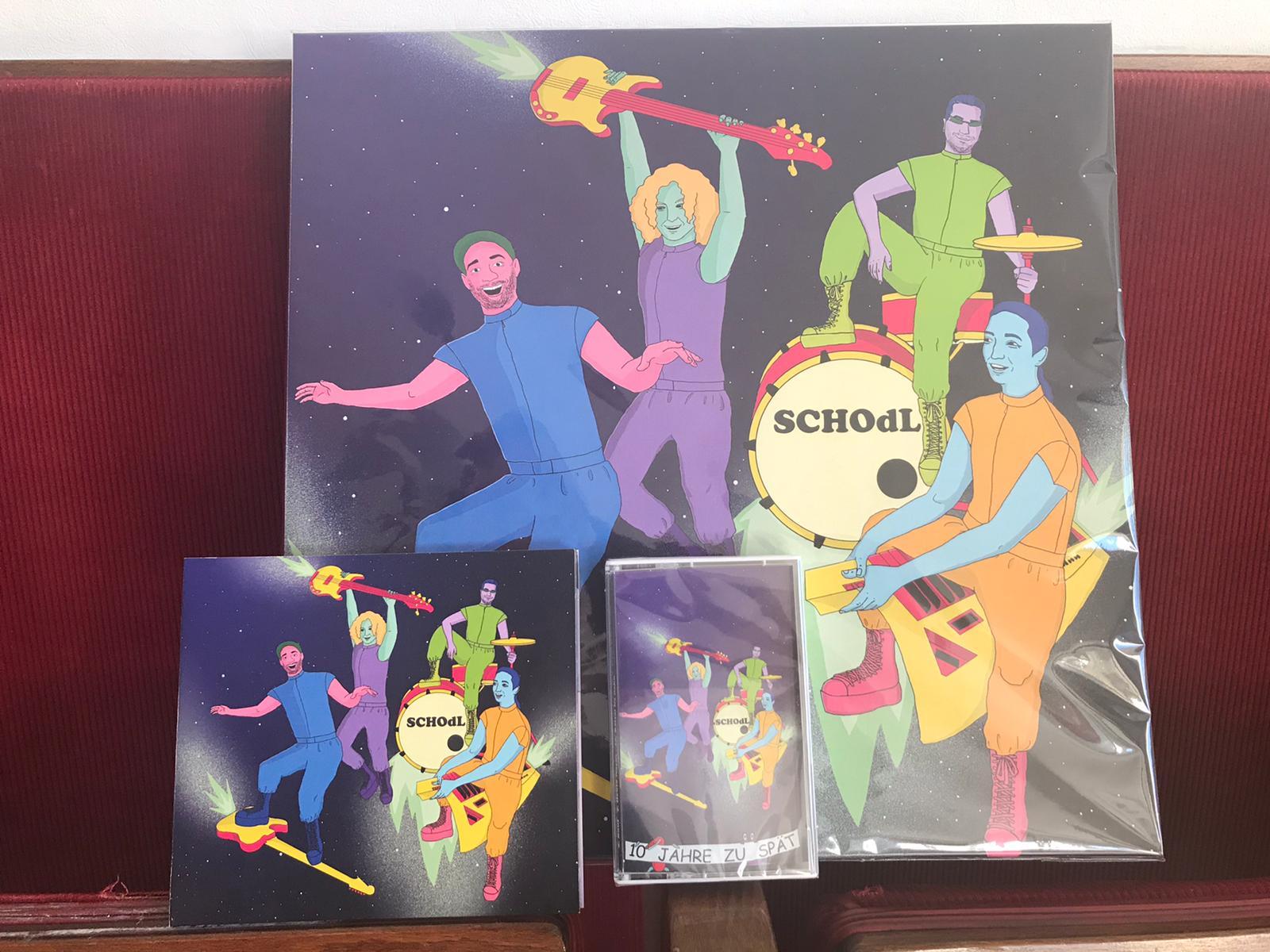Schodl – 10 Jahre zu spät